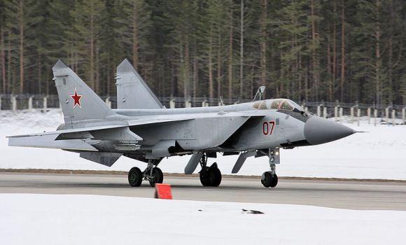 MiG-31 Angkatan Udara Rusia